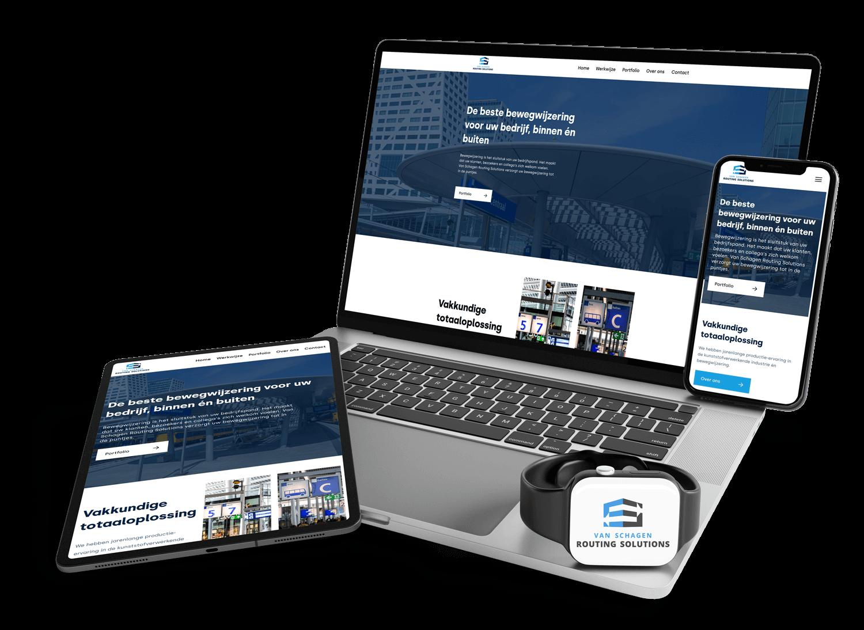 Webdesign en web development Van Schagen Routing Solutions