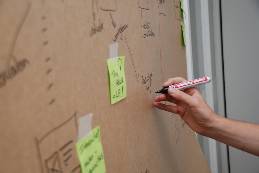 strategie bepalen voor de website met Webtopus