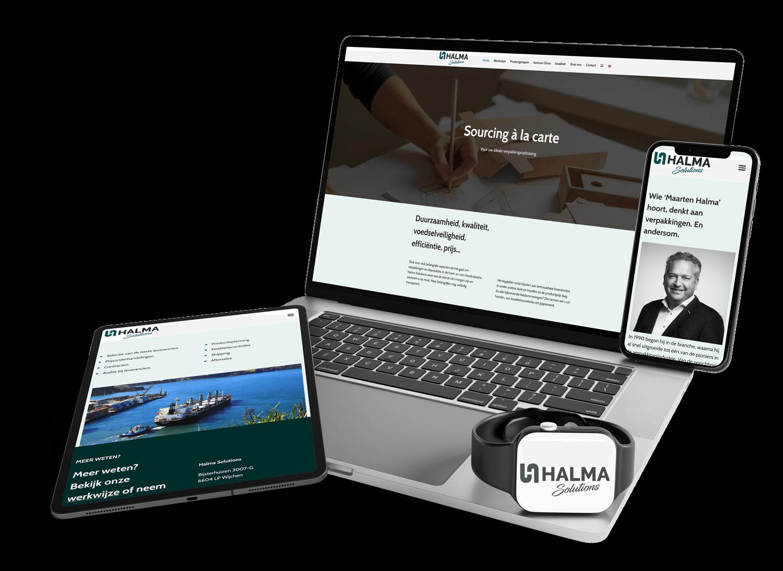 Webdesign en web development Halma Solutions